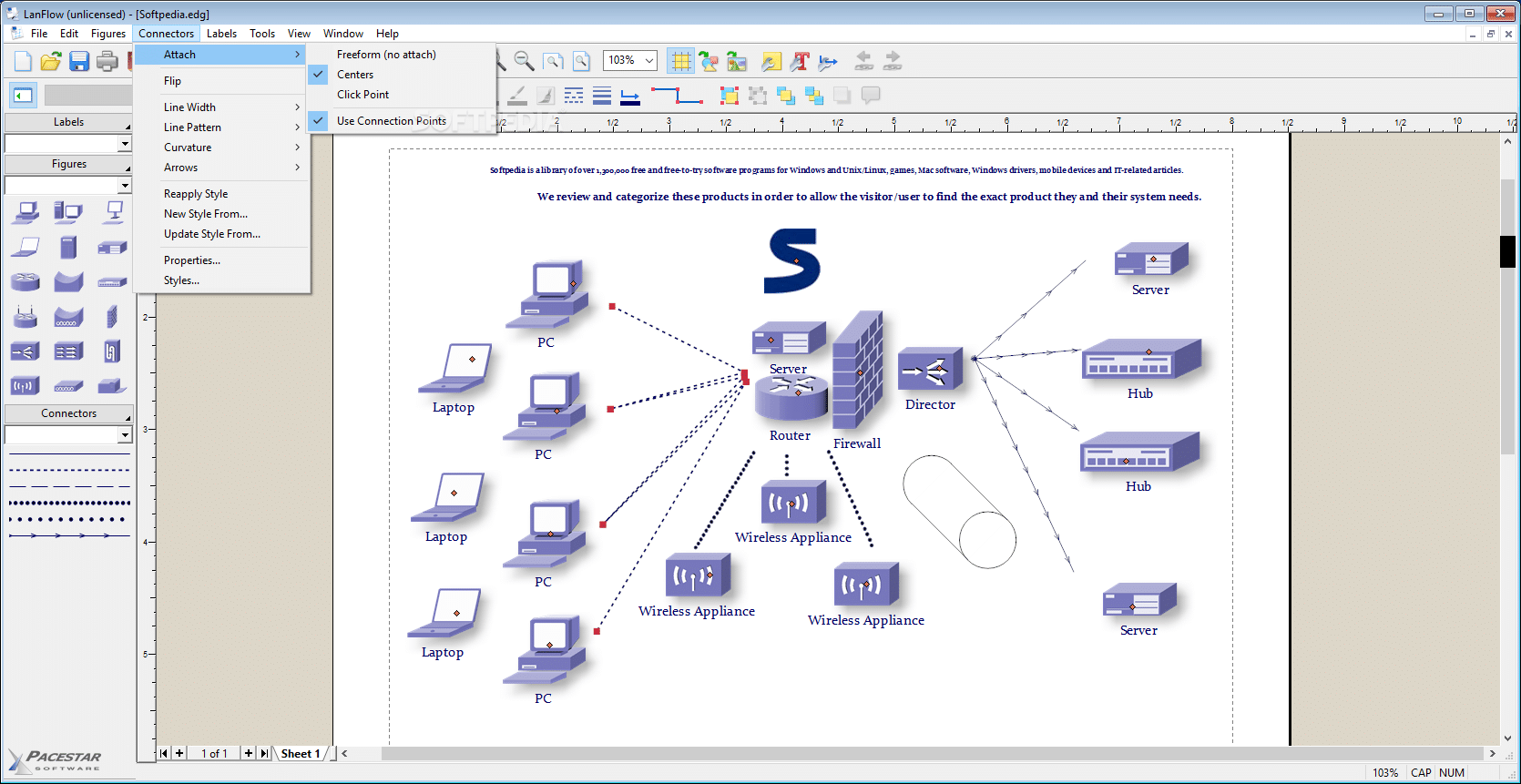 8 Top Network Diagram  Topology And Mapping Software