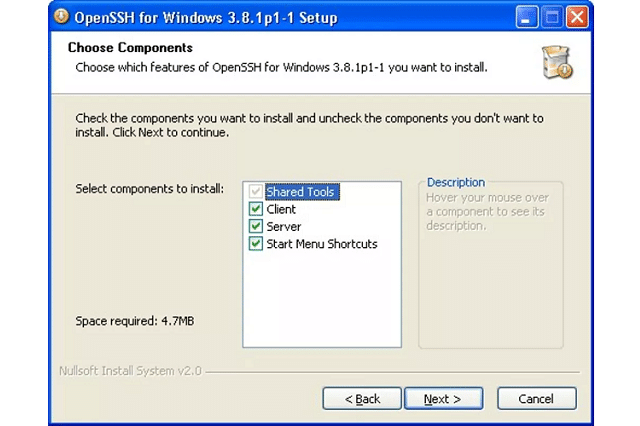 OpenSSH for Windows