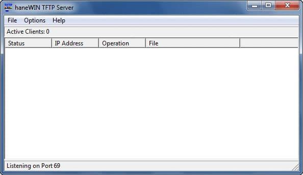 haneWIN TFTP Server