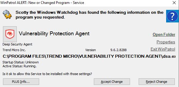 WinPatrol screenshot